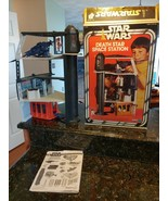 Star Wars Vintage Kenner Death Star Playset 1977 w Original Box INCOMPLETE - $537.53