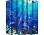 Dolphin shower curtain 3d printing shower door curtain shower shelter bath screens thumb155 crop