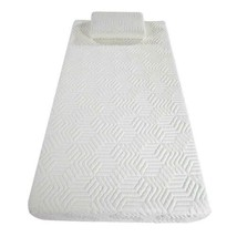 10'' COOL Traditional Firm Memory Foam Mattress Bed with 2 GEL Pillows T... - $179.24