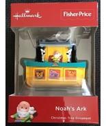 2018 Hallmark Fisher Price Little People Noah's Ark Christmas Ornament 3... - $17.81