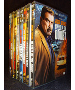 Complete Jesse Stone 8-Film DVD Collection (DVD, 8-Disc Set) Mint Discs