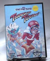 Trampoline Terror Sega Genesis NCS Rare - $22.24