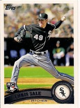 2011 Topps Series 1 Chris Sale RC #65 Boston Red Sox - $2.50