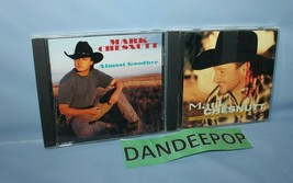 2 Mark Chesnutt Music Cds I Don't Want To Miss A Thing Almost Goodbye - $7.91