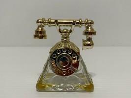 Vintage Avon La Belle Telephone Collectible Bottle 1 Oz Empty Great Condition - $9.85