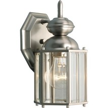 Progress Lighting P5756-09 Wall Lantern with Beveled Glass Panels Open B... - $121.44