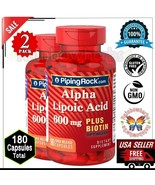 Alpha Lipoic Acid + Biotin Optimizer 600mg Age Defying Vitamin Supplemen... - $38.60