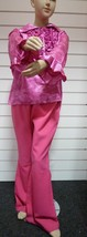 Kids  60's / 70's Costume - Pink Animal Print  - 164cm  , ages 12/14 - $20.66