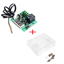 10SETS/LOT W1209 DC12V cool temp thermostat temperature control switch t... - $35.25
