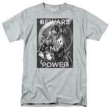 Green Lantern T-shirt DC comic book Justice League superhero grey tee DCO828 image 2