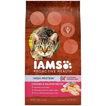 IAMS PROACTIVE HEALTH High Protein Adult Dry Cat Food with Chicken & Sal... - $17.25