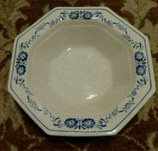 "Nikko Mariner Blue Classic Collection Stone Serving Bowl 9"" - $25.81"