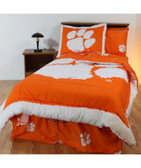 Clemson Tigers Comforter Sets 5 Combinations Twin Full King - $89.90+