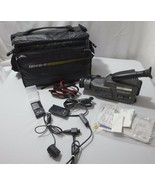 Vtg Sony Video 8 Handycam CCD-F36 Used - UNTESTED With Tamrac II bag and... - $50.00