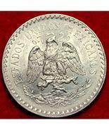 1932 Mexico Un Peso Silver Coin AU Very Nice! - $13.25