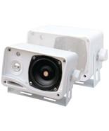 Pyle PLMR24 Hydra Series 3.5 200-Watt 3-Way Weatherproof Mini-Box Speake... - $39.62