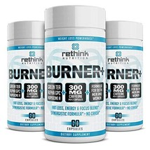 Rethink Nutrition Fat Burner, Energy Booster, Caffeine, Intense Focus Wi... - $33.99