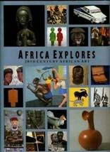 Africa Explores 20th Century African Art Exhibition Catalog 1991 - $59.55