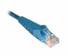 Tripp Lite N201-001-bl Cat6 Blue Gigabit Snagless Rj45 Patch Cable - $7.42