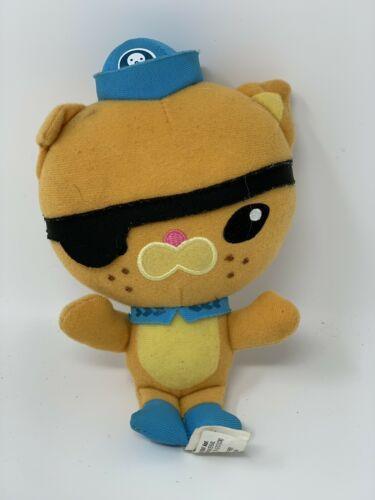 "Fisher Price Plush Octoplush Kwazii Kitten Cat 6"" Stuffed Animal 2012"