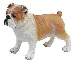 """Ebros Wilfred The English Bulldog Statue 8"""" L Adorable Bulldog Decorative Figuri - $19.75"""