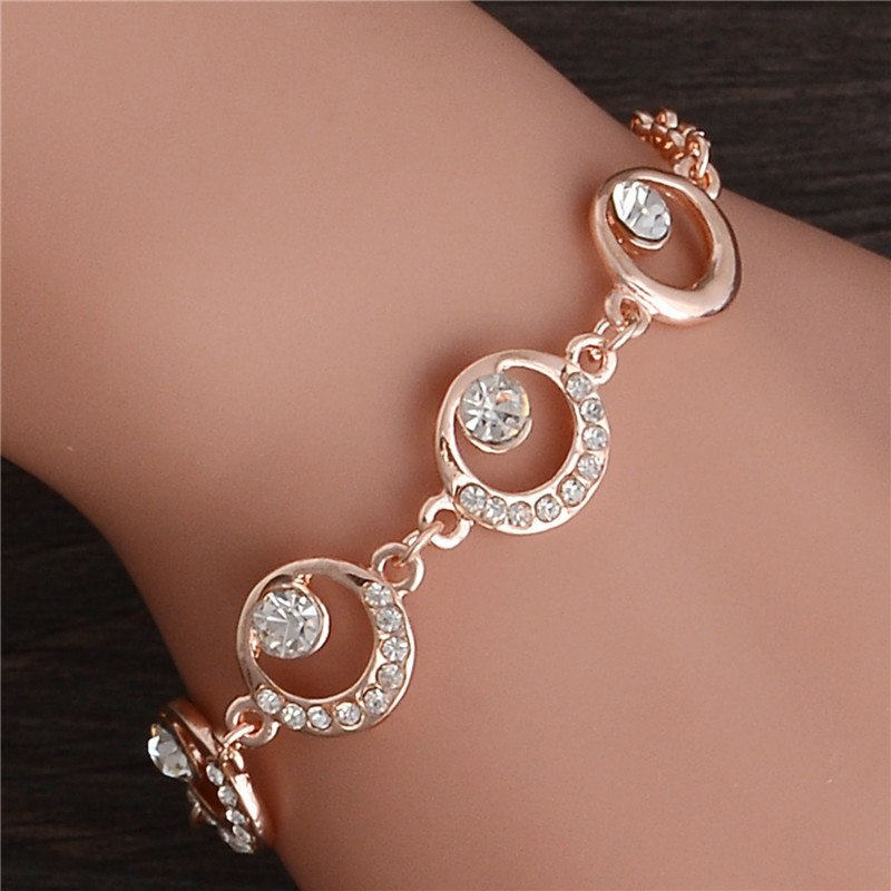 Primary image for Trendy Summer New Fashion Hot Round Crystal Jewelry charm bracelet & Bangles