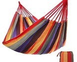 Outdoor cotton hammock comfortable extra large portable red5cd6a4ab987cc thumb155 crop