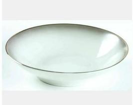 Fruit/Dessert (Sauce) Bowl Elegance (Platinum Trim) by ROSENTHAL Width: ... - $6.79
