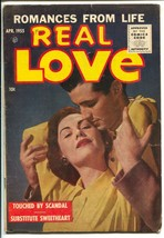 Real Love #67 1955-Ace-photo cover-auto thrill show dare devil story-VG+ - $69.84