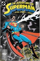 The Adventures of Superman Comic Book #440 DC Comics 1988 VFN/NEAR MINT ... - $2.75