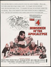 Vintage Magazine Ad The 4 Horsemen Of The Apocalypse Movie From 1962 Glenn Ford - $12.99