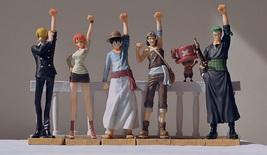 6pcs One Piece Alabasta Arc Luffy Zoro Sanji Nami Chopper Action Figure ... - $75.00