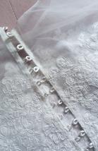 White Sleeveless Lace Crop Top Wedding Bridesmaid Lace Tops Custom Wedding Tops  image 8