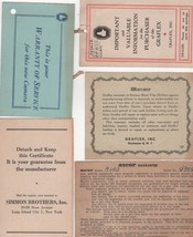 Instructions for the Lloyd Electronic Retouching Machine and More! 1950 - $4.00
