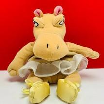 Walt disney store bean bag plush beanbag stuffed animal Fantasia Hippo b... - $19.07