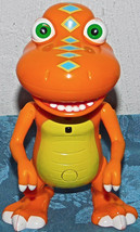 "Hasbro 2010 The Dinosaur Train Talking Interactive 6"" Buddy T-Rex Figure TOY - $13.28"