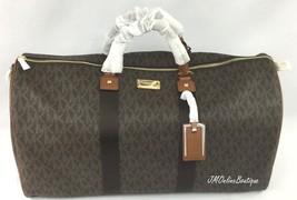 Michael Kors 35T6GTFU4B Signature PVC XL Weeken... - $285.99