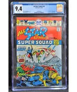 All-Star Comics #58 1976 CGC 9.4 White Pages 1st Power Girl Key Comic - $386.10