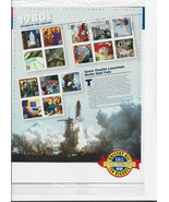 Celebrate The Century Stamps 1980's Space Shuttle Launched Berlin Sheet ... - $18.00