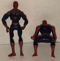 Spider-Man Lot of 6 Action Figures 2005 2006 Marvel Symbiote Comics Black Suit image 5