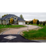 """11 Opus Romano Cement Paver Molds 12x12x3"""" Driveway Molds Make 100s, Fas... - $188.09"""