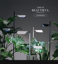 Modern Leaf Floor Lamp LED Light Adjustable Met... - $191.39 - $245.57