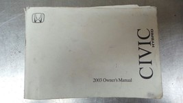 2003 Honda Civic Hybrid 304 Page Owner's Manual As Pictured  82988 - $16.91