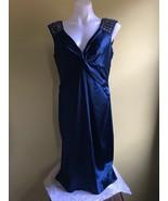 Maggy London Women Dress Regent Blue Size US 14  - $49.00