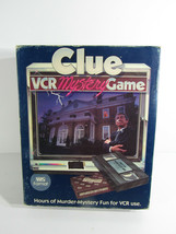 Clue VCR Mystery Game - Vintage 1985 - $22.77