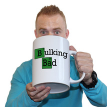 Funny Mugs - Bulking Bad - Joke Birthday Gift Birthday Pun GIANT NOVELTY... - $23.69