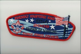 Three Fires Council SA-55 2009 Friends of Scouting FOS CSP - $9.90