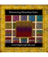 20 Seamless Shimmering Photoshop Styles - $4.99