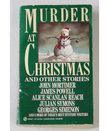 Mystery Anthology MURDER AT CHRISTMAS Simenon-Mortimer-Powell+ Paperback - $7.00