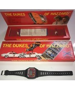 "1981 Unisonic ""The Dukes of Hazzard"" LCD Quartz Watch in FLAT Box Sold N... - $32.71"